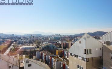 LJ-Bežigrad: BS3 nad mestom