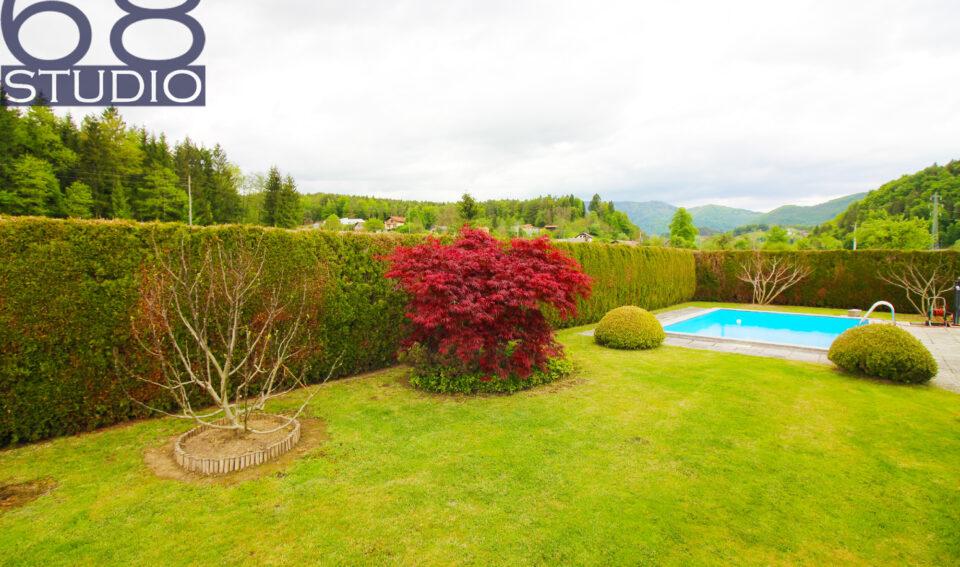 Ce-okolica: Vila z bazenom obdana z naravo